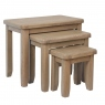 Kettle Interiors Gloucester Nest of 3 Tables