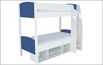 Stompa Duo Blue Bunk bed