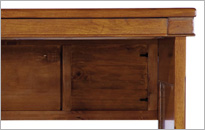 CAMILLA SMALL DESK in Cherry Brown