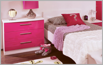 Gloss Bedroom Furniture